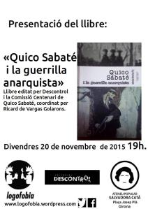 Cartell Quico Girona